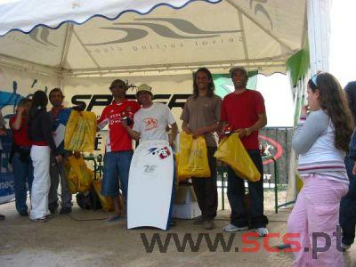 Finalistas da categoria Bodyboard Dropknee.